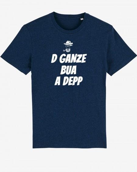 """Datschi Trachten - T-Shirt """"D Ganze Bua A Depp"""" navy"""