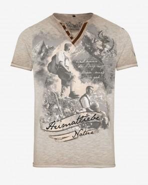 hangOwear Herren T-Shirt - Severin beige