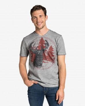 T-Shirt - Morris grau