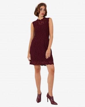 Krüger - Kleid Megan bordeaux