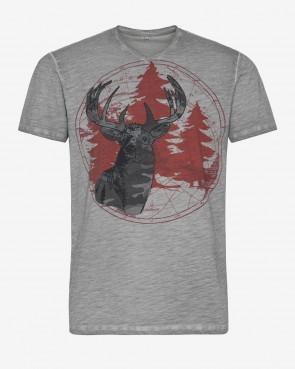 Heren T-Shirt - Morris grau