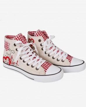 Krüger Madl - Sneaker Red Heart
