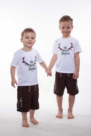 Kinder Freizeit- und Badelederhose