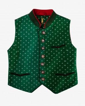 Kinder Gilet - Camillo grün