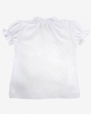 Mädchen Shirt - weiß