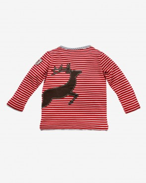 Kinder Trachten T-Shirt - Stripe