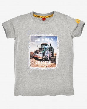 Kinder T-Shirt - Big Wheel