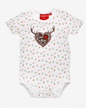 Baby Body - Blumen-Allover