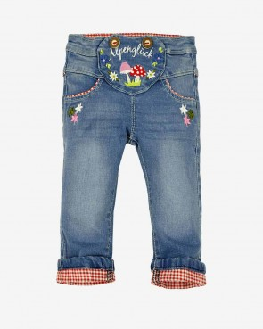 Bondy Kinder Trachtenjeans - blue denim