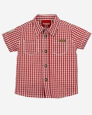 Bondy Kinder Trachten Hemd - kurzarm