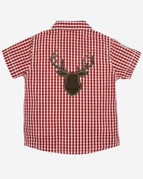 Bondi Kinder Trachten Hemd - kurzarm