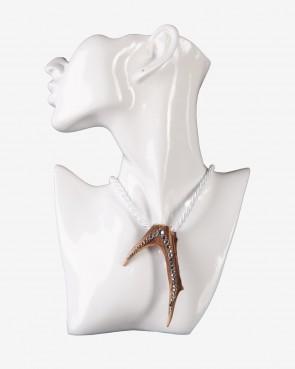 BK Crystals Collier - Krickerl Swarovski weiß