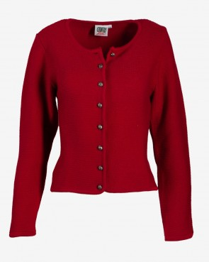 Country Line - Strickjacke Wallern rot