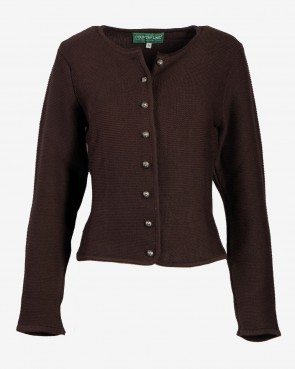 Country Line - Strickjacke Wallern braun