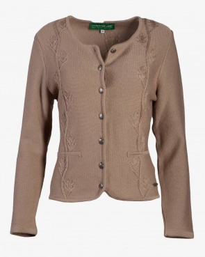 Country Line - Strickjacke beige