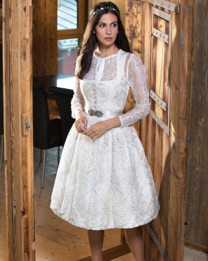 Tramontana Dirndl - white Princess