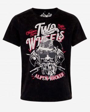 Herren T-Shirt - Robin schwarz