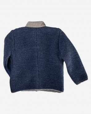 Kinder Strickjacke - Kitty jeansblau