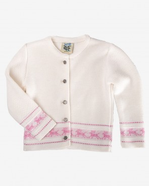 Kinder Strickjacke - Lilly natur