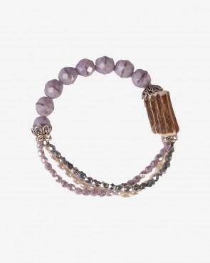 Armband - Ophra flieder