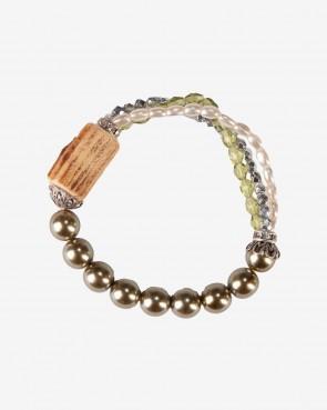 Armband - Ophra oliv