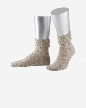 Lusana Socken - Edelweiss beigemeliert