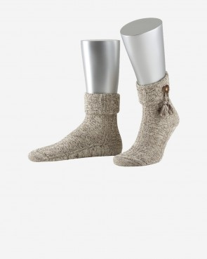 Lusana Socken - Herz beigemeliert