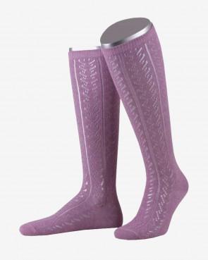Damenkniestrumpf - rosa