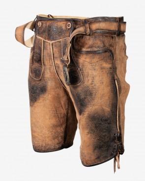 Herren kurze Lederhose - Willibald