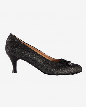 Marli - Pumps black glitzer