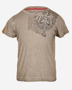 Kids T-Shirt - Sven vintage hazel meliert