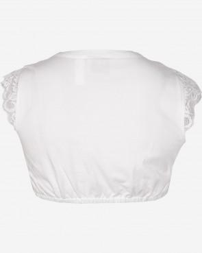 Marjo - Dirndlbluse Fergie-Almut weiß