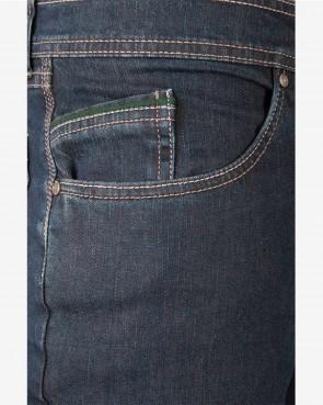 Murk Herren Trachten Jeans - Ried blue
