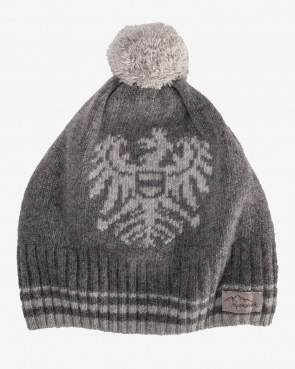 Pfrommer Mütze mit Wappen - stone/hellgrau