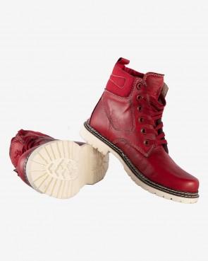 Trachten Boots - Uschi rot