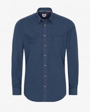 Spieth & Wensky Hemd - Nelson blau