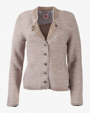 Damen Strickjacke - Plan natur