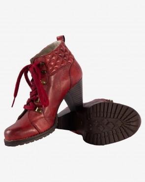 Stiefel - Wermut rot