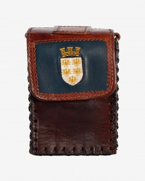 Tasche Niederösterreich braun mit Wappen