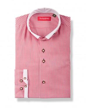 Trachtenhemd - Johann rot