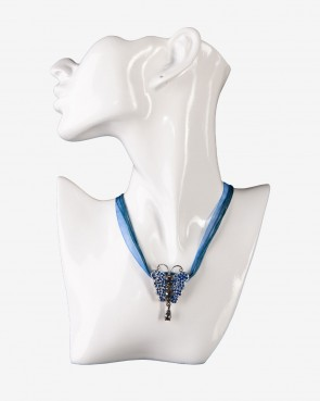 Collier - Butterfly marine