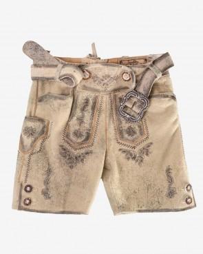 Kinder Lederhose - Leon Antik sand