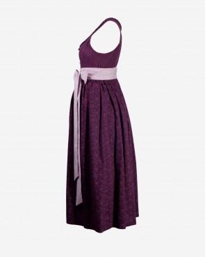 Trachten Umstandskleid - Uschi violett